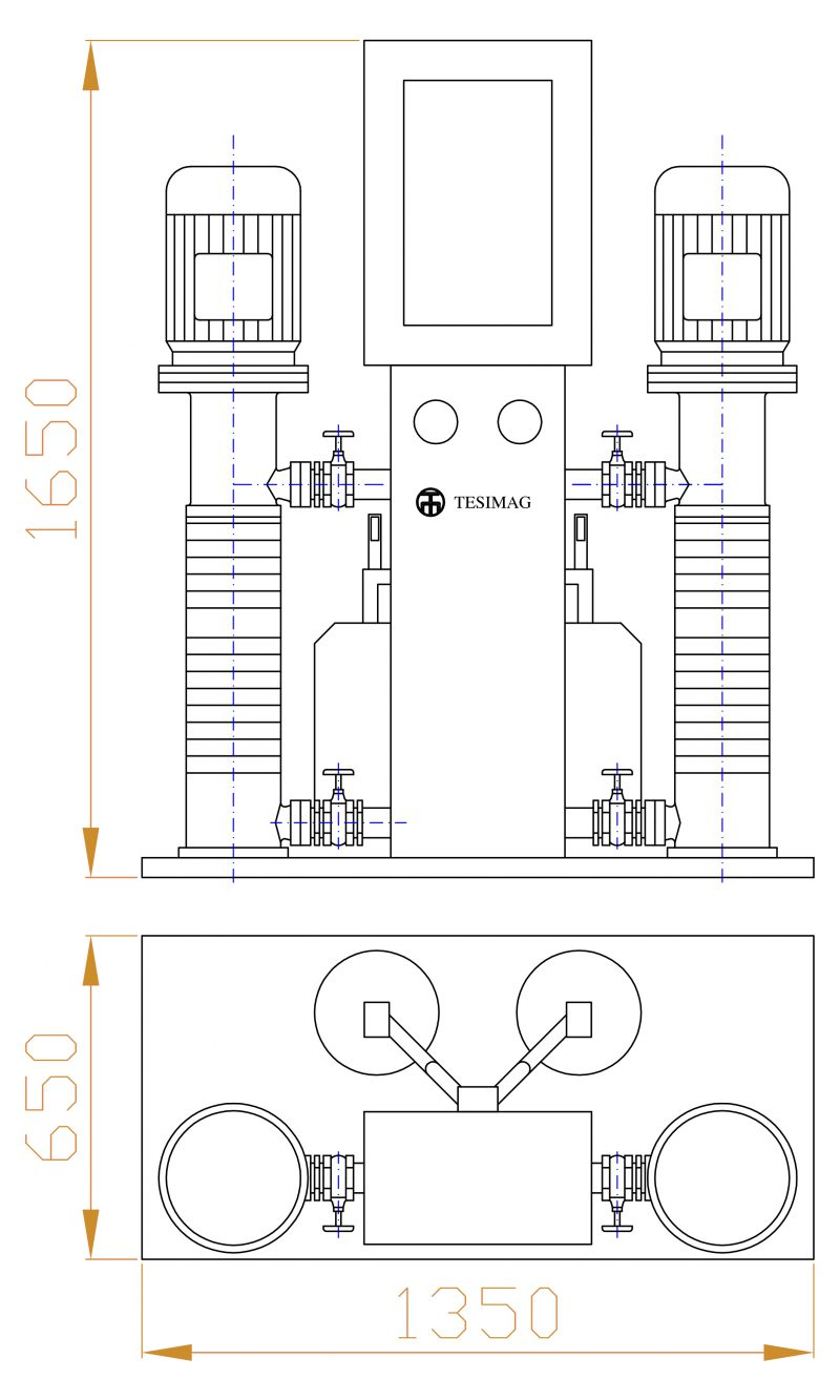 WASHING UNIT KORMOSKID2 ASSEMBLY DRAWING