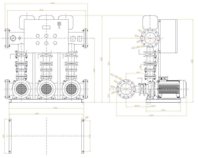 dimensioni centralina GR80-3